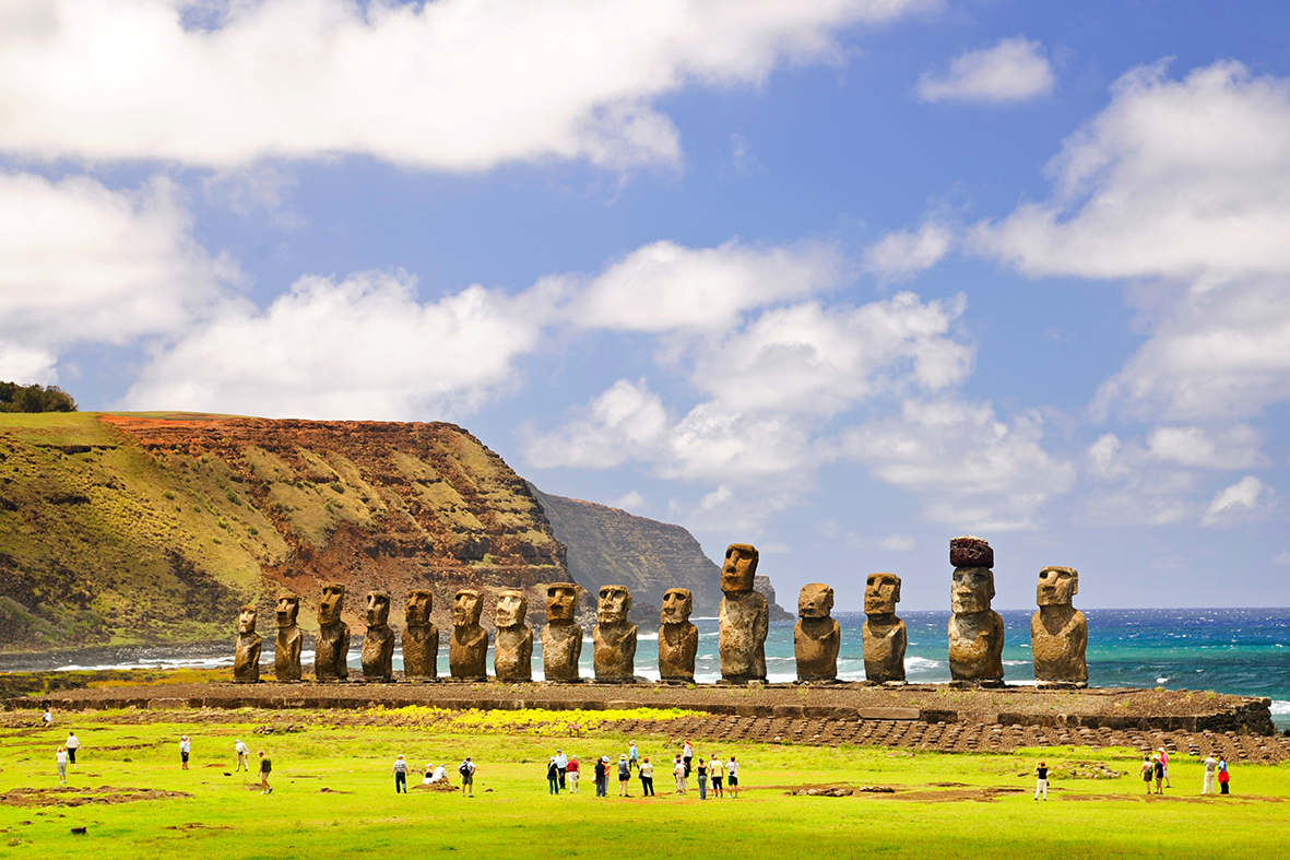 Easter Island. Photo: Shutterstock.