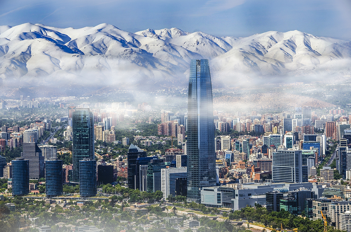 Santiago de Chile. Photo: Shutterstock.